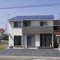 太陽の恵みがつつむ明るい家