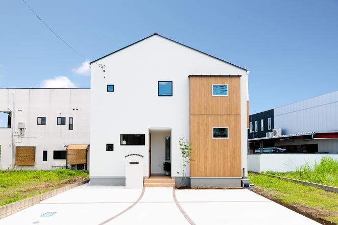 開放感あふれるパッシブ住宅